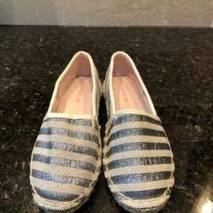 Charter Club Joeey Silver Stripe shoes